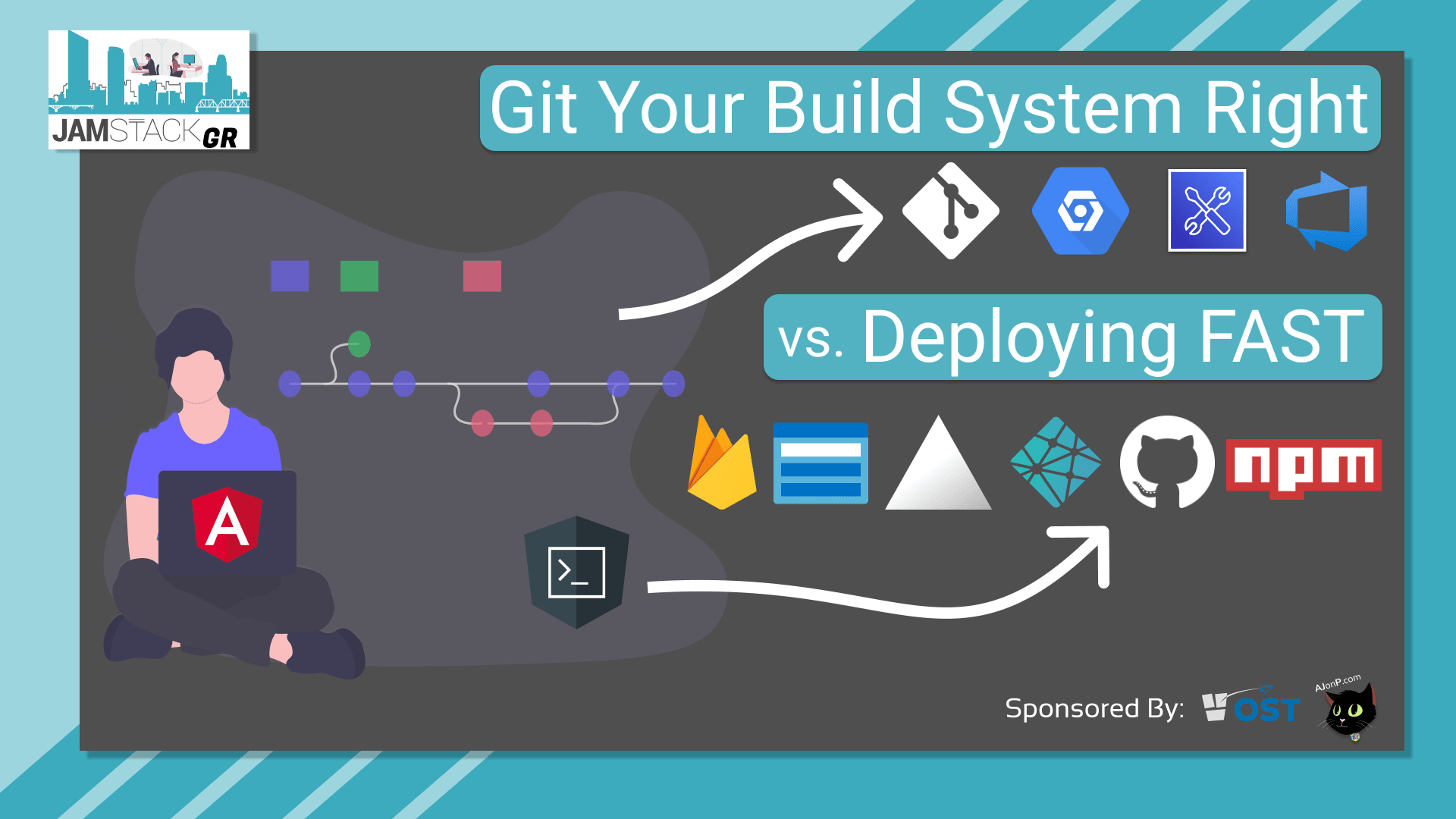 JAMStackGR #2-Git Your Build System Right vs. Deploying Fast