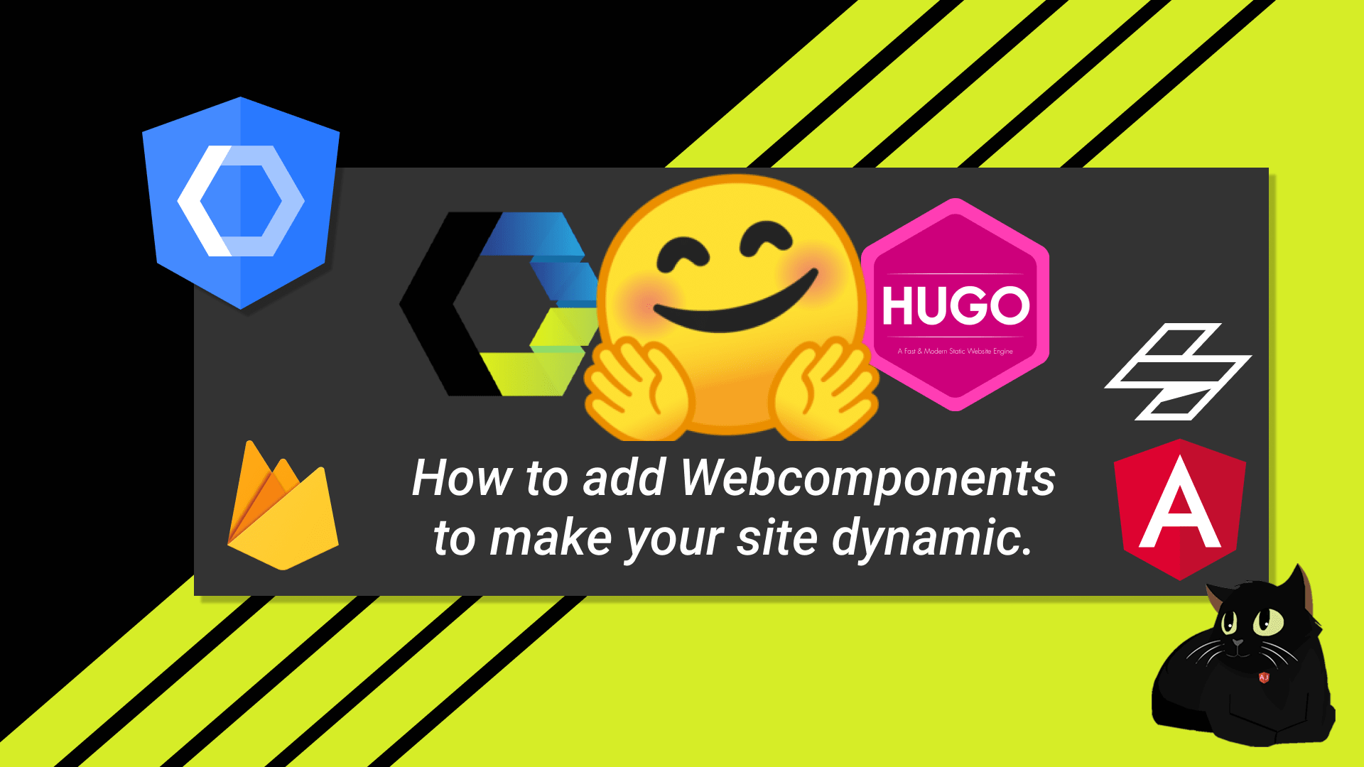 Adding Angular Components to your static site