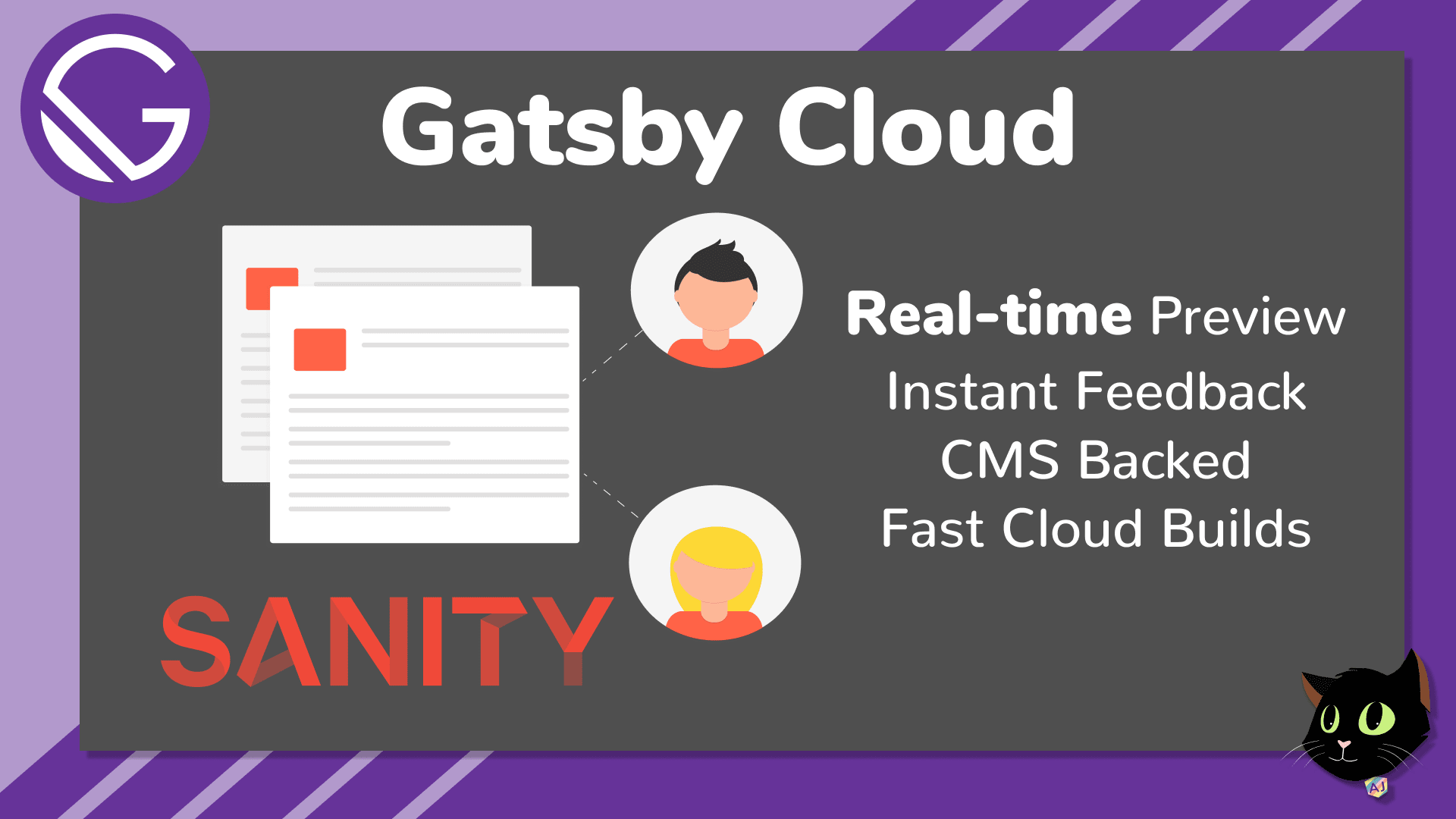 Gatsby Cloud with Sanity CMS
