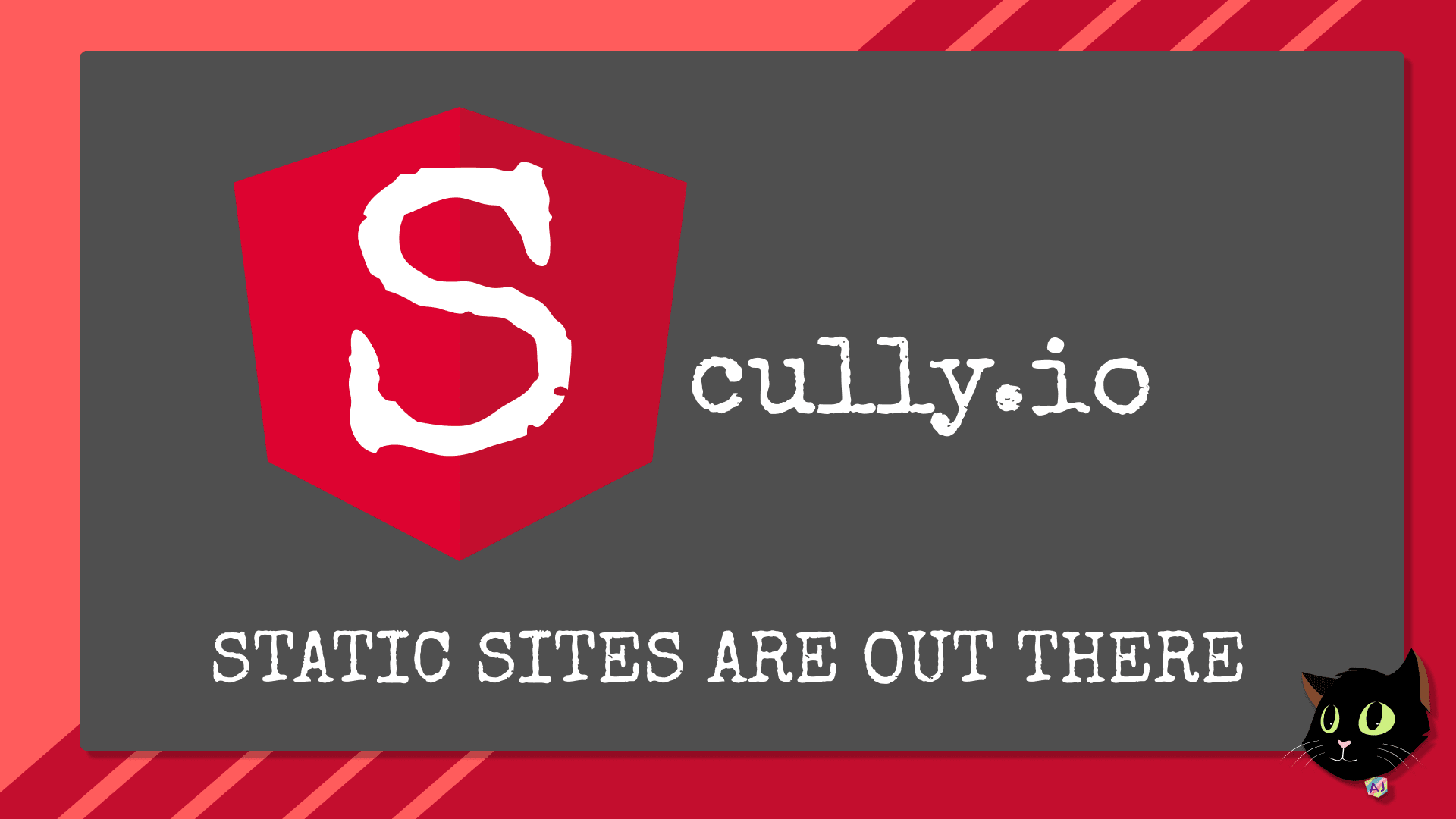 Scully - Angular Static Site Generator