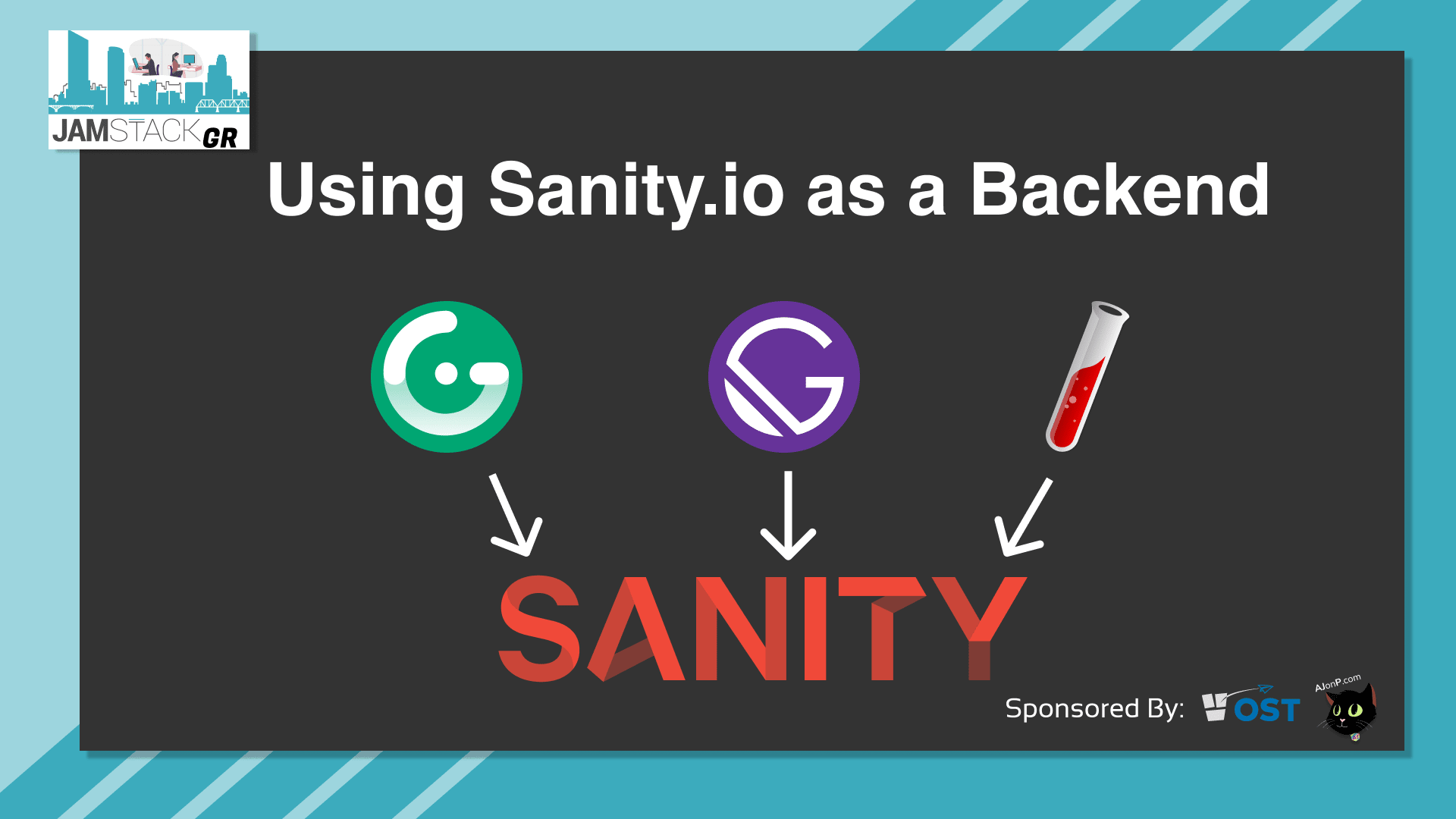 JAMStackGR #1-Sanity.io as a Backend